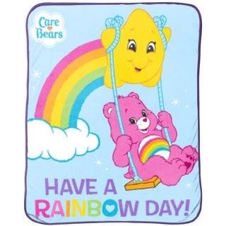 Care Bears Rainbow Throw