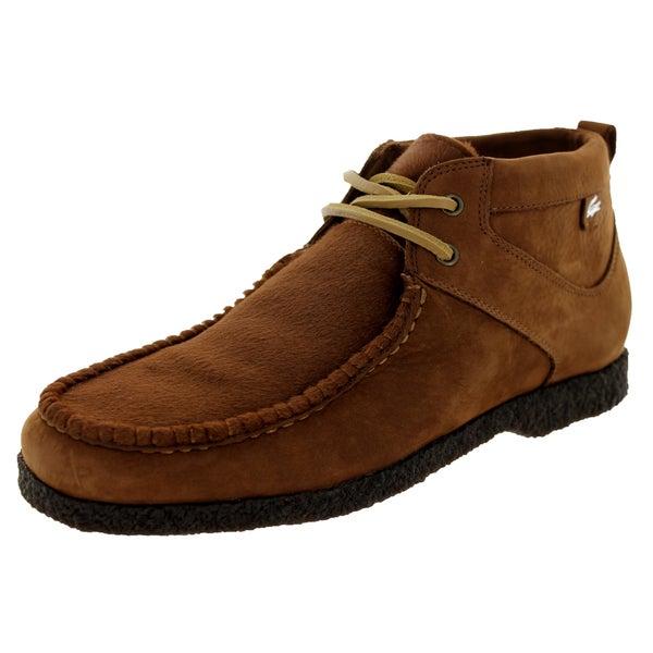 newest 7b8ea 03184 Shop Lacoste Men's Troxler Crepe Ch Brown/Lt Brown Casual ...