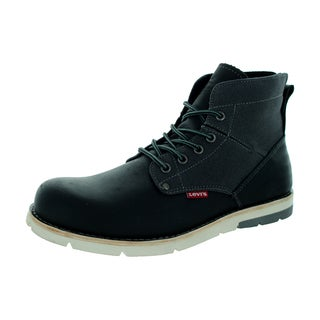 Levi's Men's Jax Black/Charcoal Boot