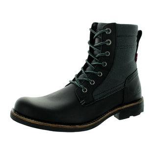 Levi's Men's Lex Black/Charcoal Boot