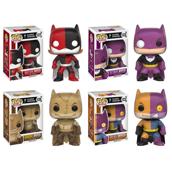 Funko POP! Heroes ImPOPster Collector's Set