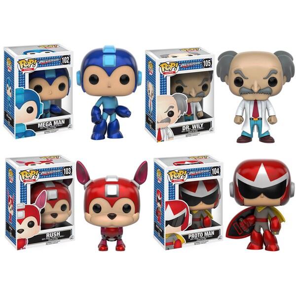 Pop! Games Funko Megaman Collectors Set