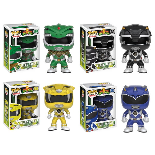 Funko Power Rangers POP! TV Collector's Set
