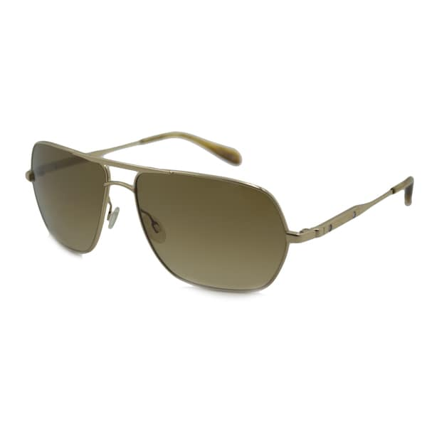 3c66cb21db131 Shop Oliver Peoples Men s OV1112S Kelton Aviator Sunglasses - Ships ...