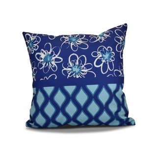 18 x 18-inch, Penelope Trellis, Geometric Holiday Print Pillow