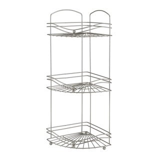 Bath Bliss 3 Tier Corner Rack Ocean Wave Design