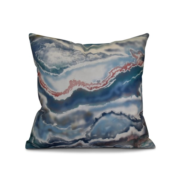 18 x 18-inch, Remolina, Geometric Print Pillow