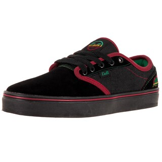 Cali Strong Oc Black/Rasta Skate Shoe