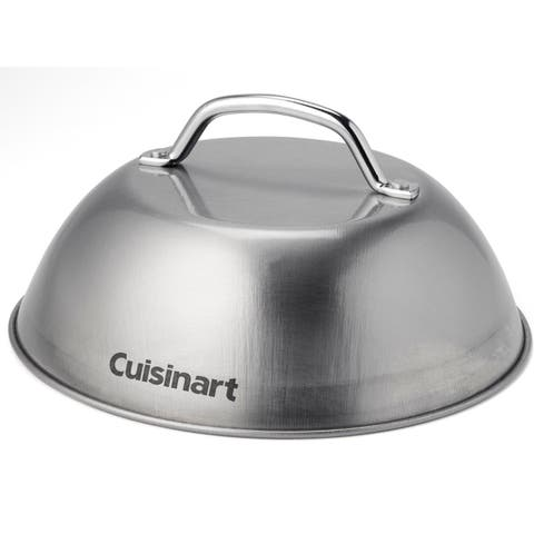 Cuisinart Stainless Steel Grill Melting Dome