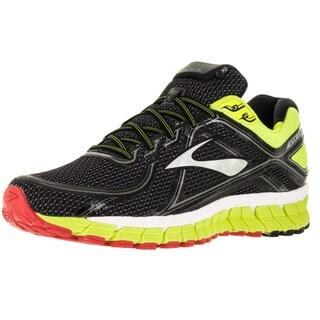 Brooks Men's Adrenaline Gts 16 Black/Midnighife/Highriskred Running Shoe