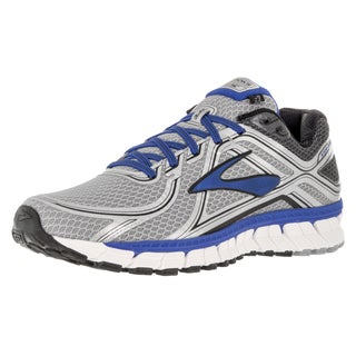 Brooks Men's Adrenaline Gts 16 Silver/ElectricbrooksBlue/Blac Running Shoe