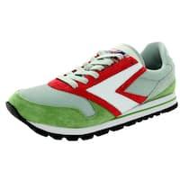 Brooks Men's Chariot Forrestgreen/Scarlettred/Grey Running Shoe