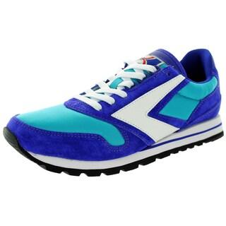 Brooks Men's Chariot Turquoise/Purple/White Running Shoe