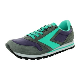 Brooks Men's Chariot Grey/Purple/Turquoise Ascensio Running Shoe