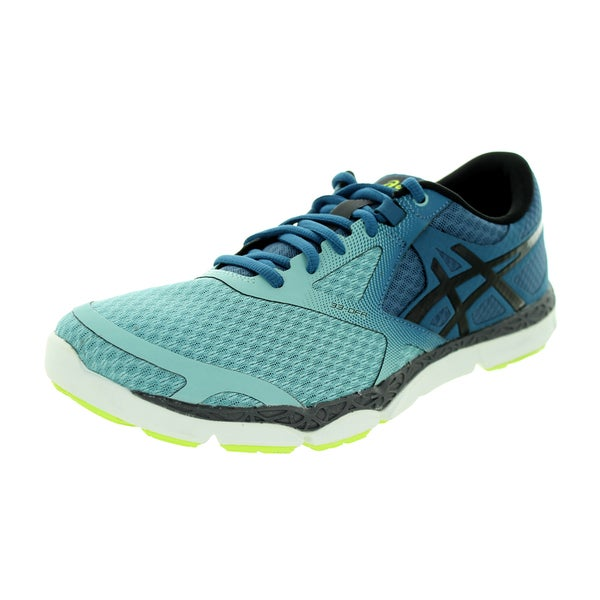 a91f6222cce09 Shop Asics Men's 33-Dfa Mallard/Black/Flash Yellow Running Shoe ...