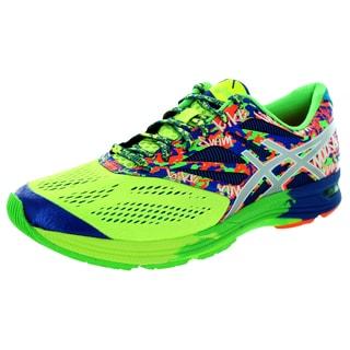 Asics Men's Gel-Noosa Tri 10 Flash Yellow/Lightning/Blue Running Shoe