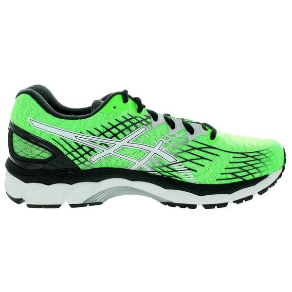 Shop Asics Men's Gel-Nimbus 17 Flash/Green/White/Black Running Shoe ...
