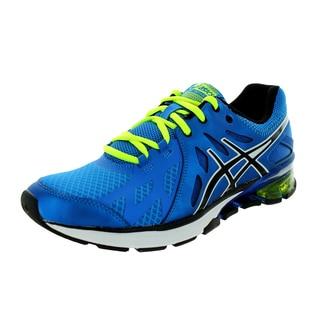 Asics Men's Gel-Defiant Royal/Black/Lime Running Shoe