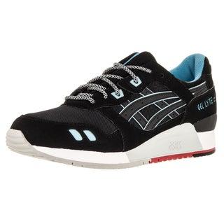 Asics Men's Gel-Lyte Iii Black/Black Running Shoe