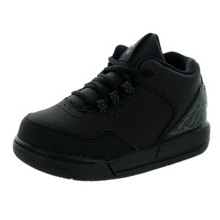 Nike Jordan Flight Origin Toddlers 2 Bt Black/Black/Dark Grey Basketball Shoes