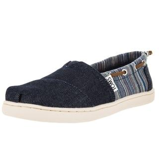 Toms Kid's Bimini Blue Denim Casual Shoe