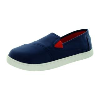 Toms Kid's Avalon Sneaker Blue Casual Shoe
