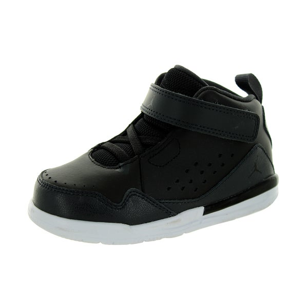 e6f0c4281c06 Shop Nike Jordan Black Toddlers Basketball Shoe - Ships To Canada ...