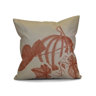 18 x 18-inch, Stagecoach, Floral Print Outdoor Pillow