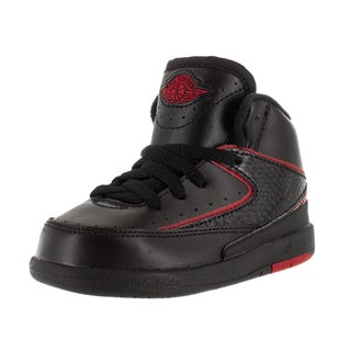 Nike Jordan Toddlers Jordan 2 Retro Bt Black/Varsity Red Basketball Shoe