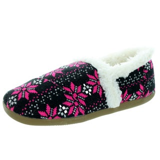Toms Kid's Slipper Flake Knit Loafers and Slip-Ons Shoe
