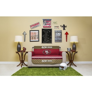 Licensed NFLSan Francisco 49ers Love Seat Protector