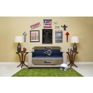 Los Angeles Rams Microfiber Licensed NFLLoveseat Protector