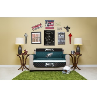 Licensed NFLPhiladelphia Eagles Polyester Love Seat Protector