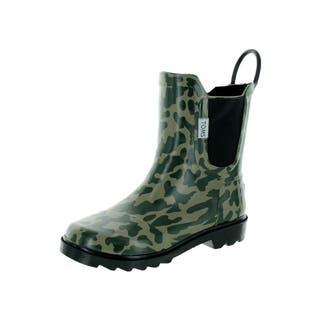 Toms Kid's Green Rain Boot (Option: 3)|https://ak1.ostkcdn.com/images/products/12321397/P19154256.jpg?impolicy=medium