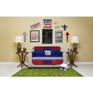 New York Giants Licensed NFLLoveseat Protector