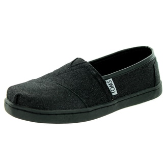 Toms Kid's Classic Black Casual Shoe