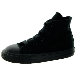 Converse Toddlers' Chuck Taylor All Star Black Canvas Basketball Shoes
