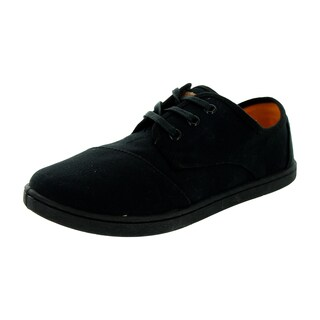 Toms Kid's Paseo Black Casual Shoe