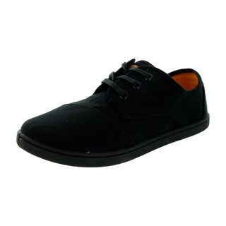 Toms Kid's Paseo Black Casual Shoe (Option: 5.5)