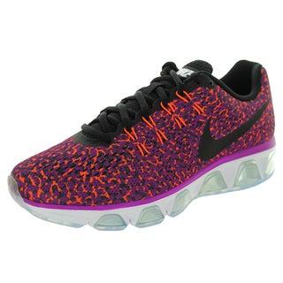 Nike Women's Air Max Tailwind 8 Vvd Purple/White/Black/ Orange Running Shoe