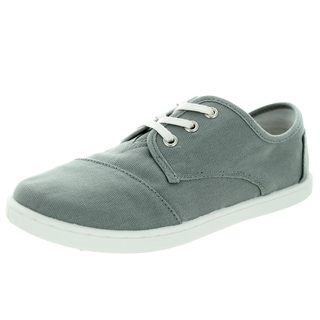 Toms Kid's Paseo Ash Canvas Casual Shoe