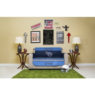 Tennessee Titans Multicolored Polyester Licensed NFLLove Seat Protector