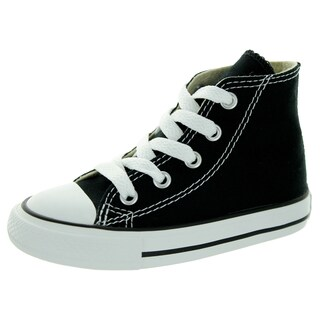 Converse Toddlers' All Star Chuck Taylor Black Basketball Shoe