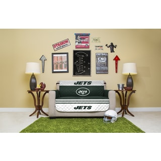 New York Jets Licensed NFLLoveseat Protector
