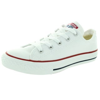 Converse Kid's Youth Chuck Taylor All Star Optical White Basketball Shoe