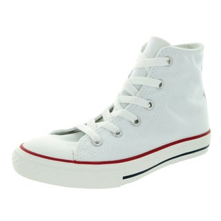 Converse Kid's Chuck Taylor All Star Hi Core Opt Optical White Basketball Shoe