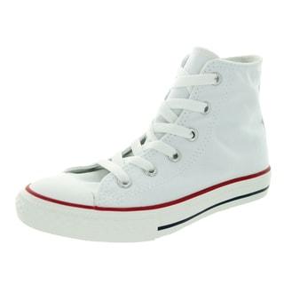 Converse Kid's Chuck Taylor All Star Hi Core Opt Optical White Basketball Shoe