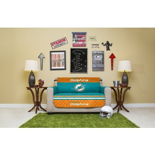 Miami Dolphins Licensed NFLLove Seat Protector