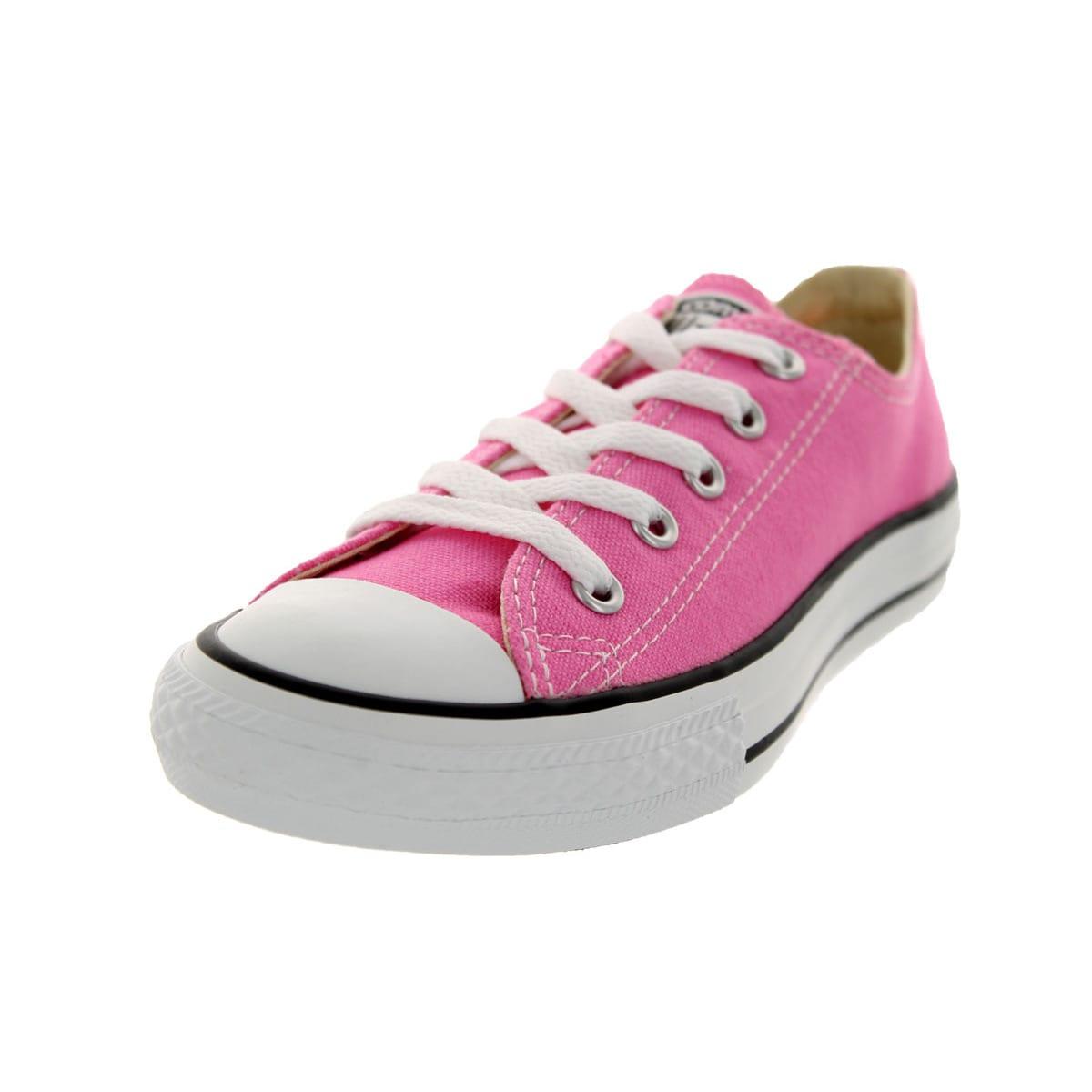 Converse Youths Chuck Taylor Allstar Pink Basketball Shoe...