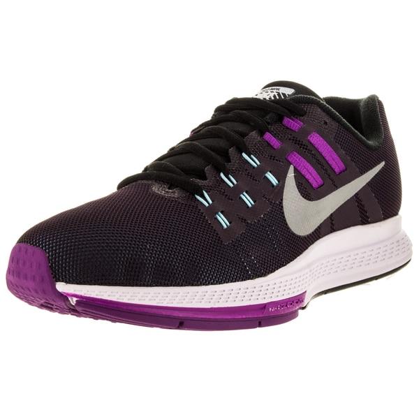971836b5207 Shop Nike Women s Air Zoom Structure 19 Flash Nbl Purple Rflct Slvr ...